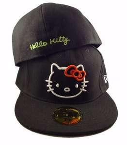 BRAND NEW BLACK with WHITE HELLO KITTY NEW ERA HAT**