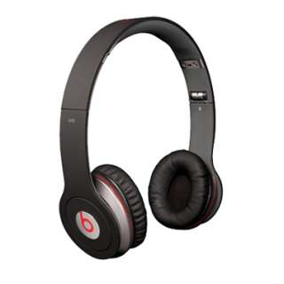 Monster Beats By Dr Dre Solo Black Headphones Earphones OTE fit to