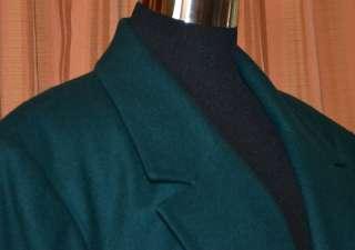 GREEN VIRGIN WOOL BLAZER JACKET SPORT COAT WOMENS LADIES 18 NWT