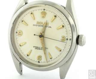 ROLEX OYSTER 6564 SS AUTOMATIC MENS WATCH W/ CAL. 1030 MOVEMENT