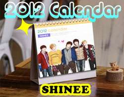 desk Calendar   SUPER JUNIOR LEE MINHO BIGBANG B2ST UKISS SHINEE SNSD