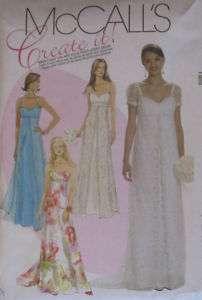 Misses Dress Pattern M6030~Bridal,Wedding,Bridesmaid,Prom,Formal