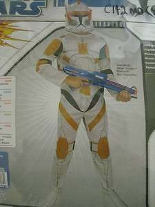 Star Wars Clone Trooper COMMANDER CODY Halloween Costume Boys Medium 8
