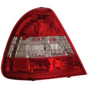 Anzo USA 221157 Mercedes Benz Red/Clear Tail Light Assembly   (Sold in