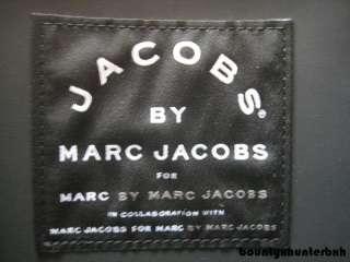 MARC JACOBS Black Rubber Tote Bag Handbag Purse Small S