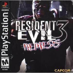 Resident Evil 3 Nemesis Video Games