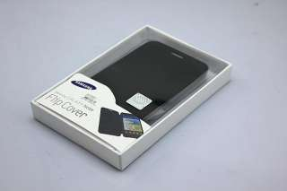 Newest OEM Black Flip Case cover for Samsung Galaxy Note N7000 I9220