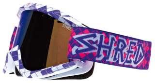 SHRED SOAZA NASTIFY REDUX PURPLE SOAZA34 Maschera da sci e snowboard