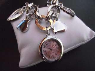 Reloj Rosa Pulsera Para Mujeres Eve Mon Crois quartz analogico