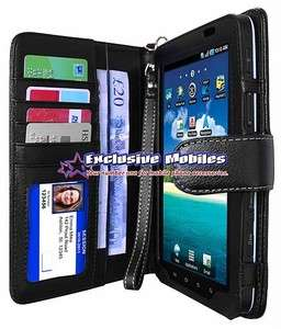 GENUINE LEATHER WALLET CASE  SAMSUNG GALAXY TAB P1000