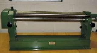 BENCH SHEET METAL ROLLER ( SLIP ROLLS ) 12 ROLLS