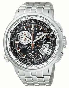 Citizen Eco Drive Chrono Time A T Mens Watch Watches
