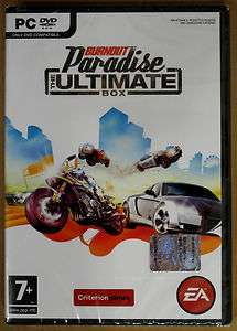 Videogame Burnout Paradise   The Ultimate Box   PC