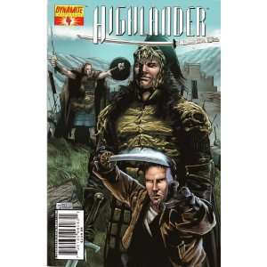 Highlander #4 Cover B by Billy Tan Brandon Jerwa