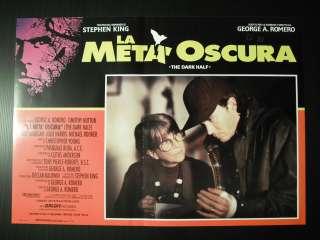 La metà oscura, Dark Half, George A. Romero 1993, Fotobusta cinema