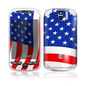 I Love America Design Decorative Skin Decal Sticker for HTC