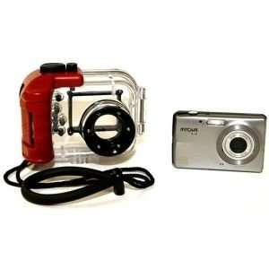 New 12MP Underwater Digital Camera with 2.4 LCD and