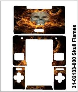 Nintendo DS Classic Skin   skull flames