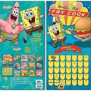 Nickelodeon. SpongeBob Squarepants. 2011 wall calendar 11