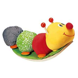 Eco Friendly Rocking Caterpillar Ride On Plush Rocker   Smart Gear