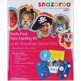 Snazaroo Party Pack Face Painting Kit   Reeves International