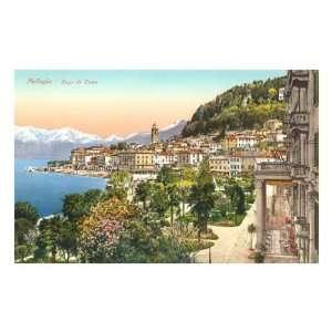 Bellagio, Lake Como, Italy Premium Poster Print, 18x12