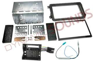 VW Golf Mk5 Double Din CD Car Stereo Fascia Fitting Kit