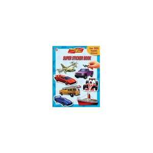 Rides Super Sticker Book (9782764300244) Phidal Publishing Books