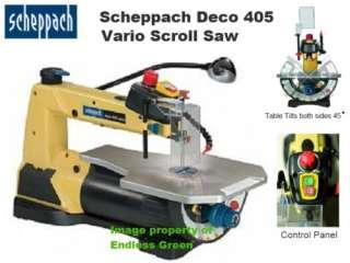 Scheppach TKU 4000 Circular Saw bench   Woodworking NEW |