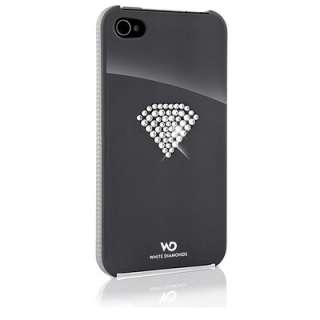 Coque strass Swarovski Apple Iphone 4/s   Rainbow Grey