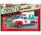 amt 1950 chevrolet 3100 pickup truck model kit skill le