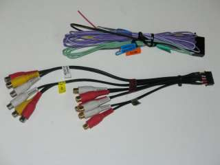 Kenwood KVT 512,KVT512 Power Speaker, RCA Cable Harness