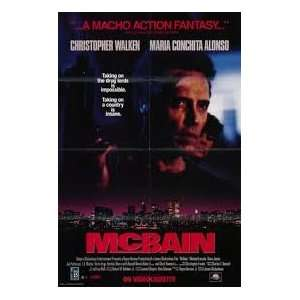 Mcbain [VHS]: Christopher Walken, Maria Conchita Alonso