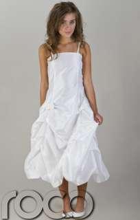 Robe Mariage Demoiselle dHonneur Communion Fille Taille Enfant
