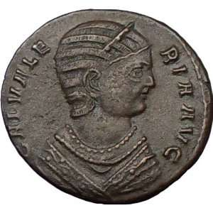 GALERIA VALERIA Galerius Wife 308AD Rare Authentic Ancient Roman Coin