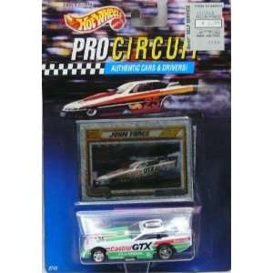 1992 Hot Wheels Pro Circuit   Authentic Cars & Drivers   John Force