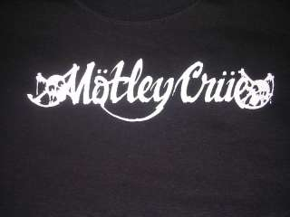 Vintage MOTLEY CRUE Rock Band T Shirt