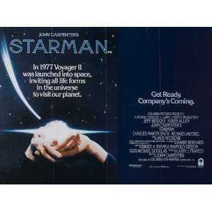 Starman Poster 30x40 Jeff Bridges Karen Allen Charles Martin Smith