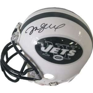 Mark Sanchez Autographed New York Jets Mini Helmet  Sports