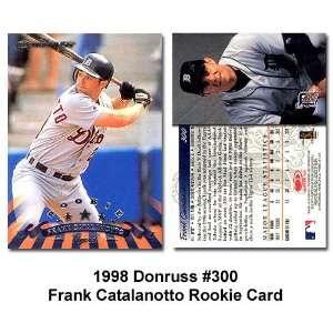 1998 Donruss Frank Catalanotto Rookie Card: Sports