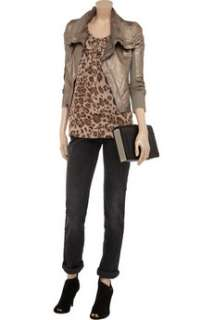 Rebecca Taylor Animal print chiffon camisole   80% Off Now at THE