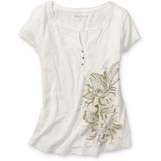 Womens Embroidered Shirt  Eddie Bauer  Ladies Embroidered Shirt