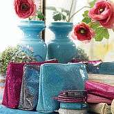 Shimmering Wash Bags   high flyer   travel accessories