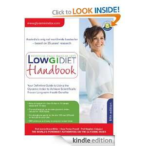 Low GI Diet Handbook Your definitive guide to using the Glycemic