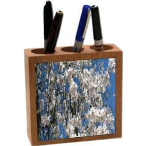 Rikki KnightTM Cherry Blossom Tree Branches 5 Inch Tile