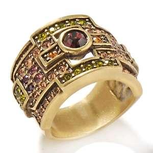 Heidi Daus Classic Edition Crystal Cigar Ring
