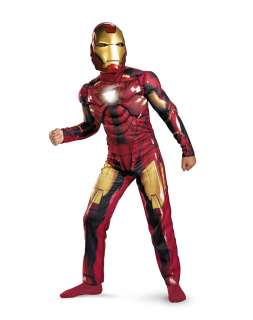 Iron Man Light up Deluxe Childs Costume