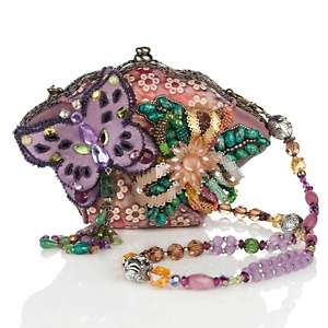 Mary Frances Beaded Butterfly Bag
