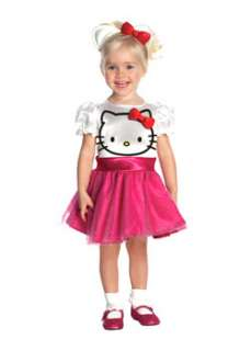 Hello Kitty Kids Cartoon Character Costume for Toddlers at Wholesale