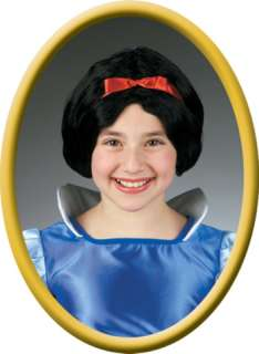 costumes in shopping cart snow white child wig
